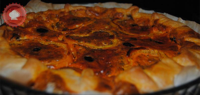 Cake Poivron Feta Olives