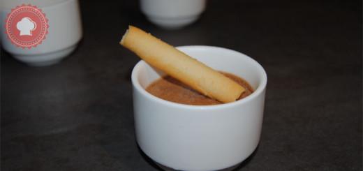 mousse chocolat au lait-une