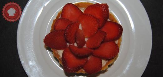 tarte aux fraises-une