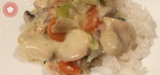 Une blanquette de saumon facile à préparer pour un petit plat délicieux entres amis ou en famille