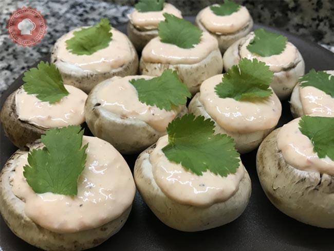 champignons-creme-poivrons