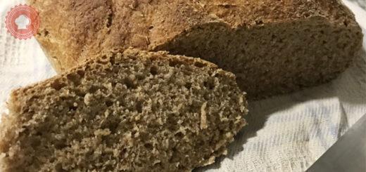 Une recette de pain maison, le pain complet très facile à réaliser.
