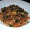 Riz frit spécial de l'île Maurice