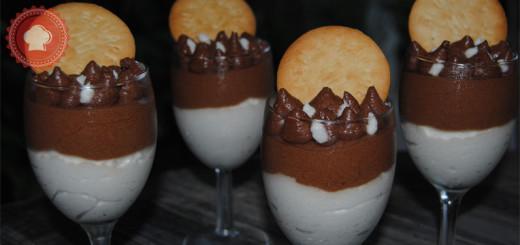 Pour un dessert léger et délicieux je vous propose cette recette de mousse noix de coco et chocolat facile à réaliser.